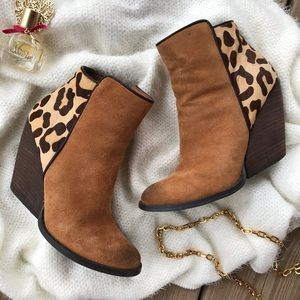 Very Volatile Chatter Bootie Ankle Pony Hair 6